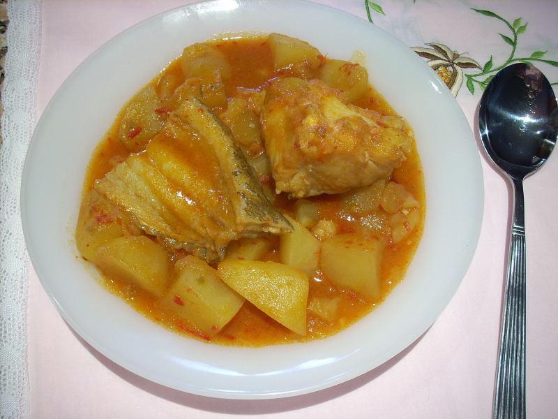 Receta de patatas con bacalao recetas de cocina for Cocina bacalao con patatas