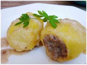 Receta de patatas rellenas