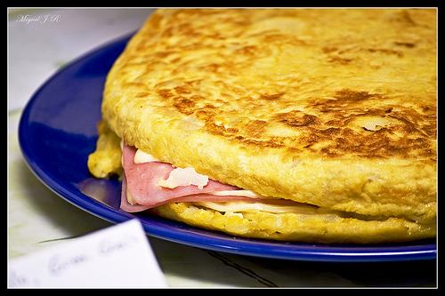 Receta de rollo de tortilla