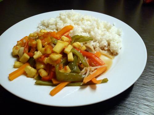 Verduras al vapor con salsa de naranja recetas de cocina - Como cocinar verduras al vapor ...