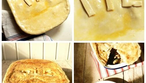 """""""Pie"""" de pollo"""